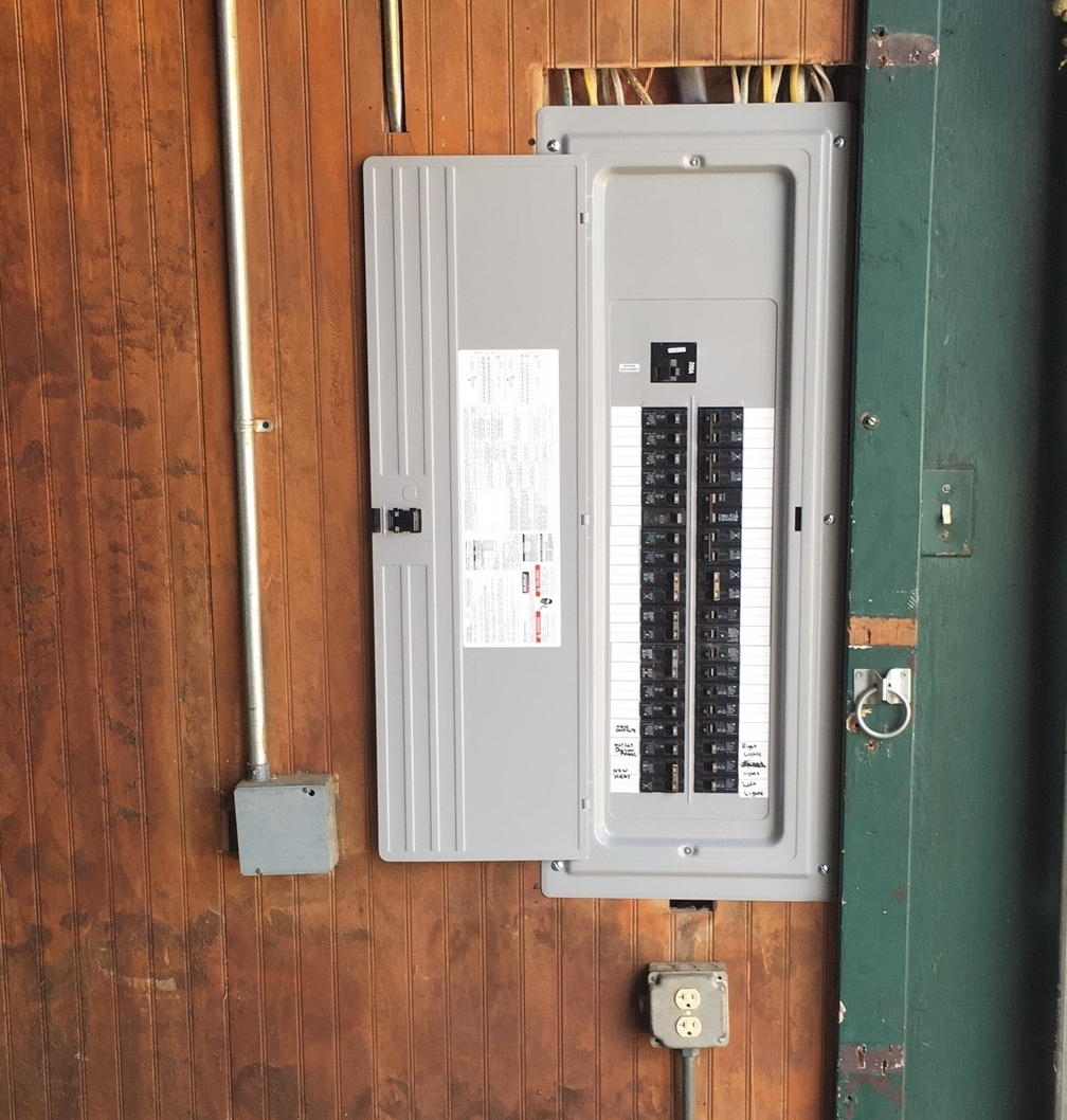 Photos Sean Murphy Electric 200 Amp Fuse Box After Pic New Panel